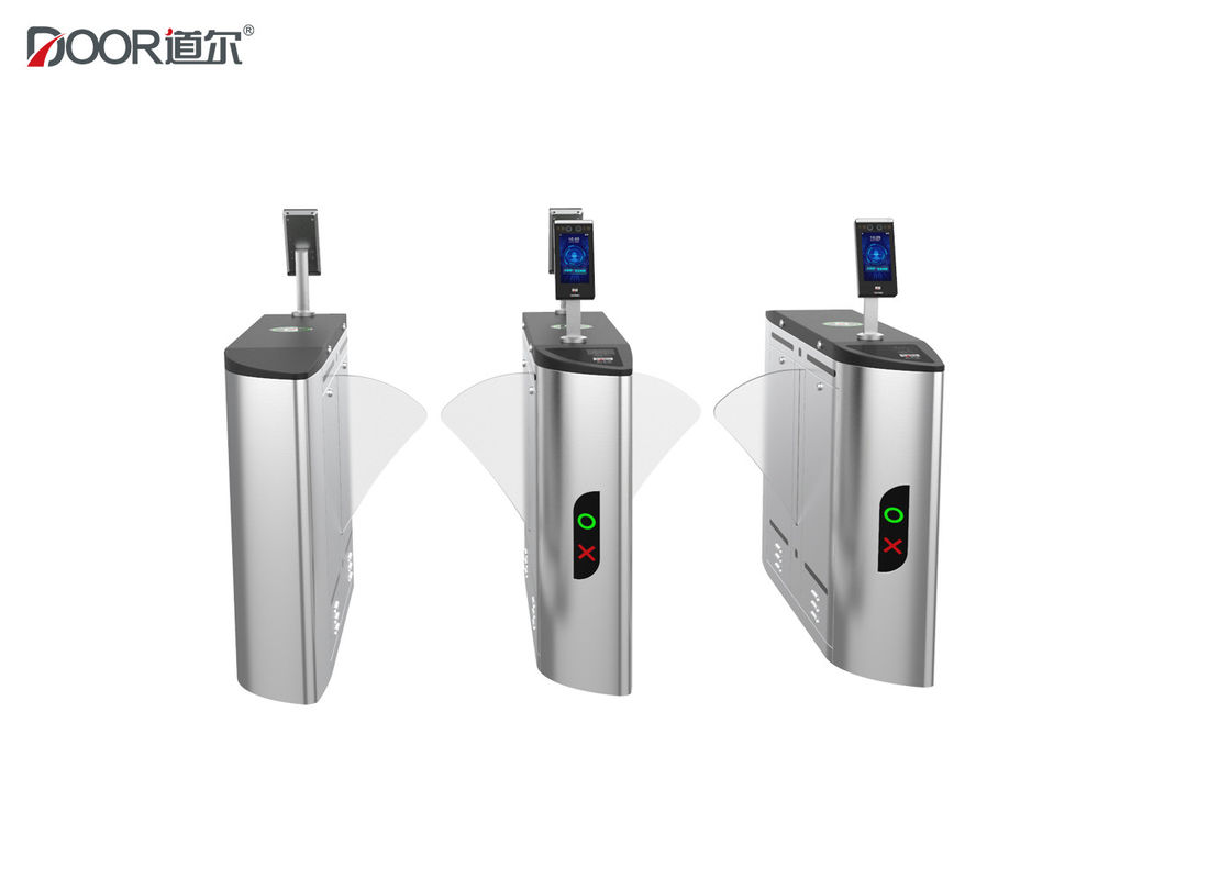 Retractable High Speed Facial Recognition Turnstile Intelligent Access Automatic Designed