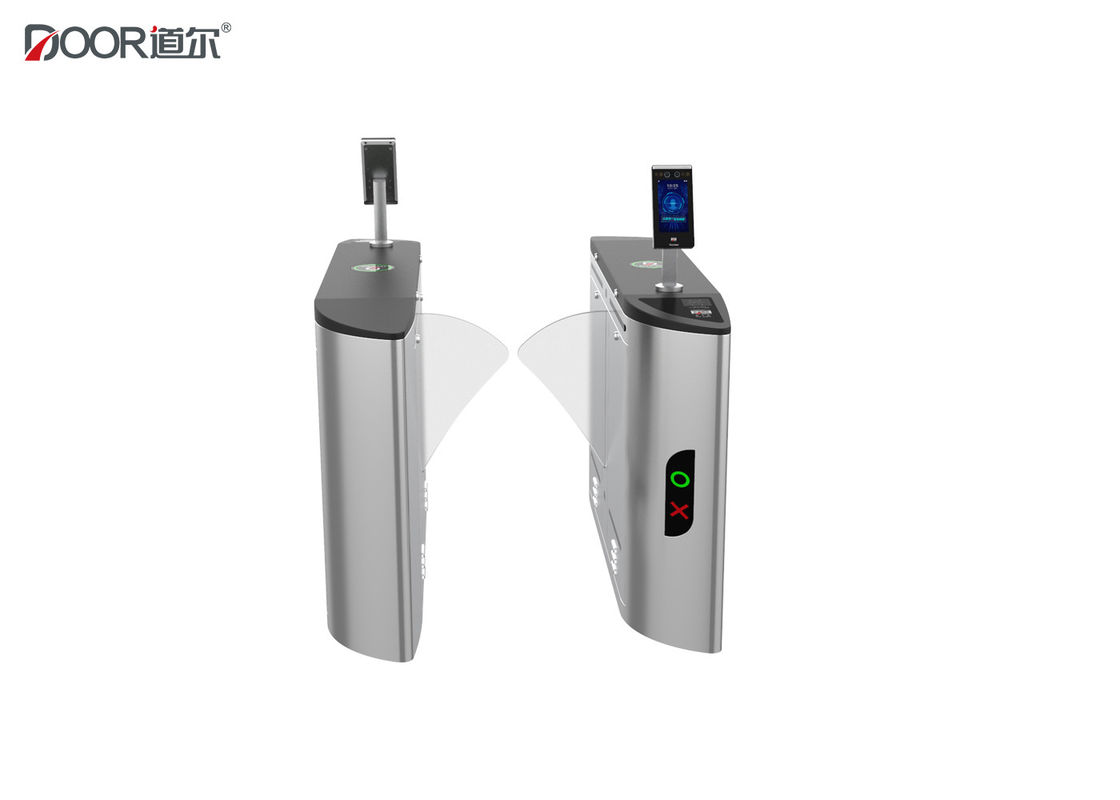 Automatic Flap Barrier Facial Recognition Turnstile Rfid Card Access Control Systems